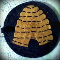 beehive badge