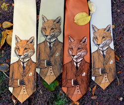 fox-tie
