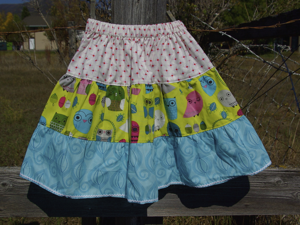noelle o designs tier skirt
