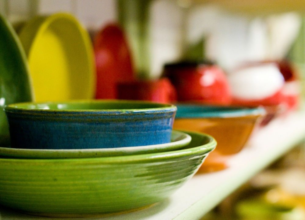Colorful-pottery