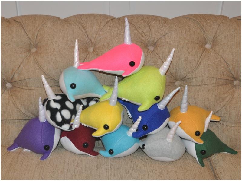 stuffed narwhals