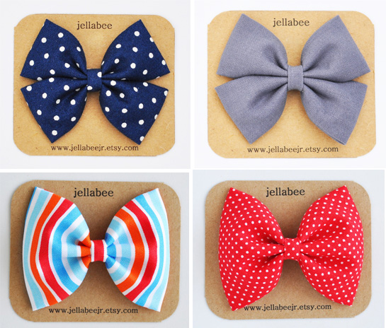 fabric-bows