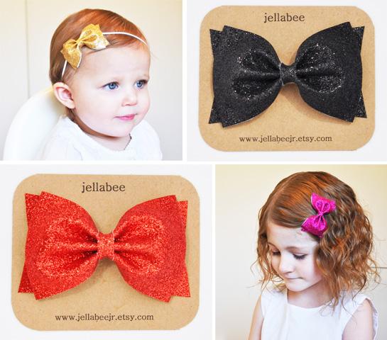 glitter-bows