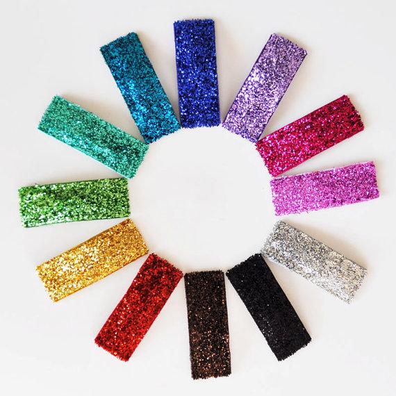 glitter-snap-clips