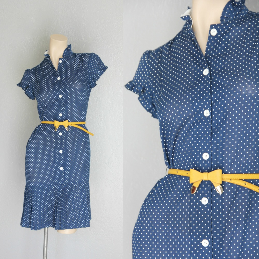 polka dot Maeberry Vintage