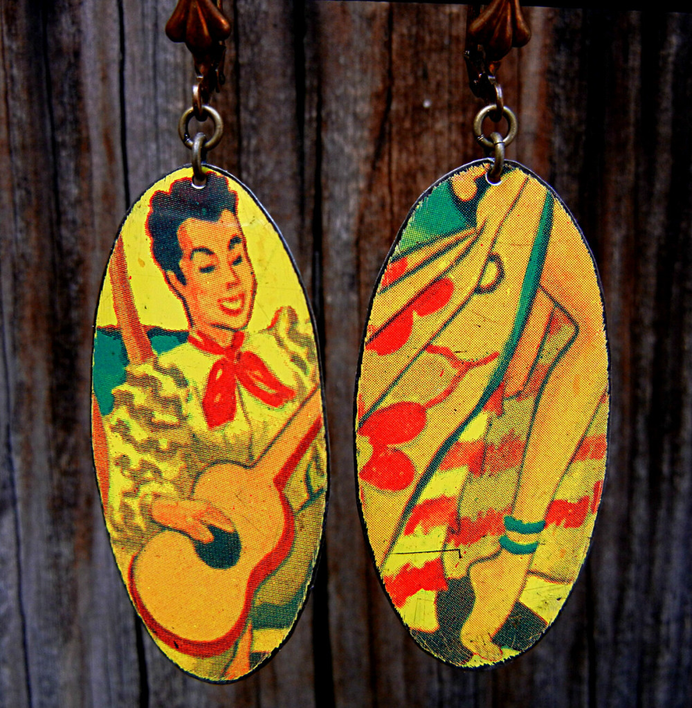 Guitar-Gent-Leg-Earrings