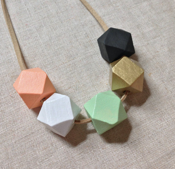 geometric necklace2