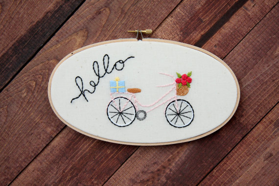 bicycle hoop