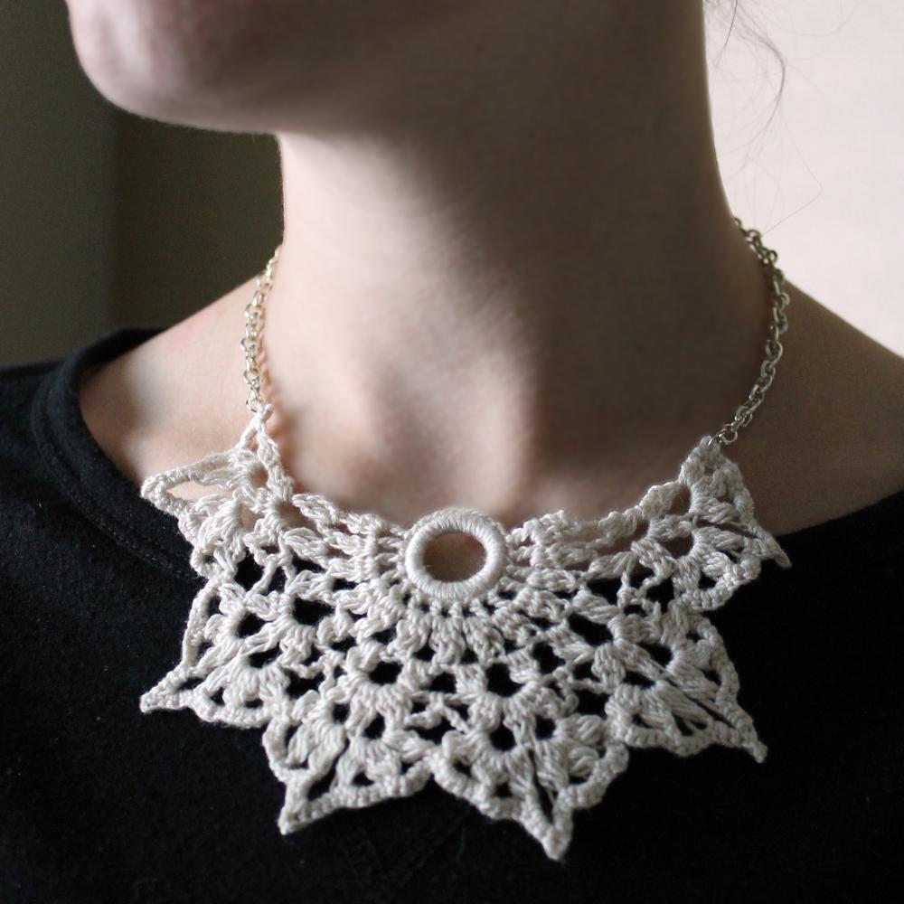 Star Crochet Necklace