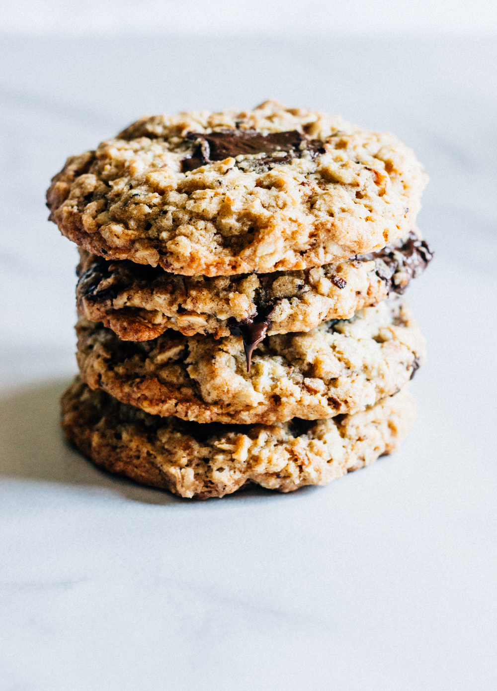 Toasted Coconut and Chocolate Chunk Oatmeal Cookies — The ...