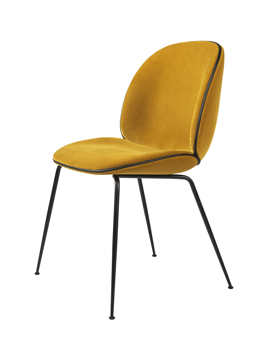 Beetle Chair_Velluto di cotone 312, yellow_black_front.jpg