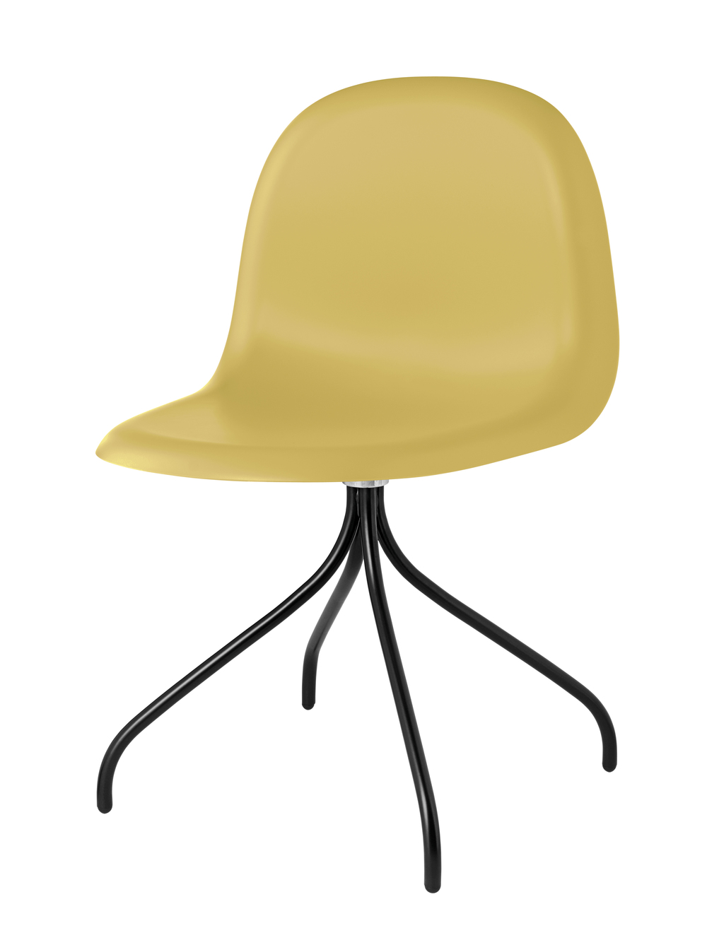 Gubi 9 Chair_Venetian Gold_Black Swivel.jpg