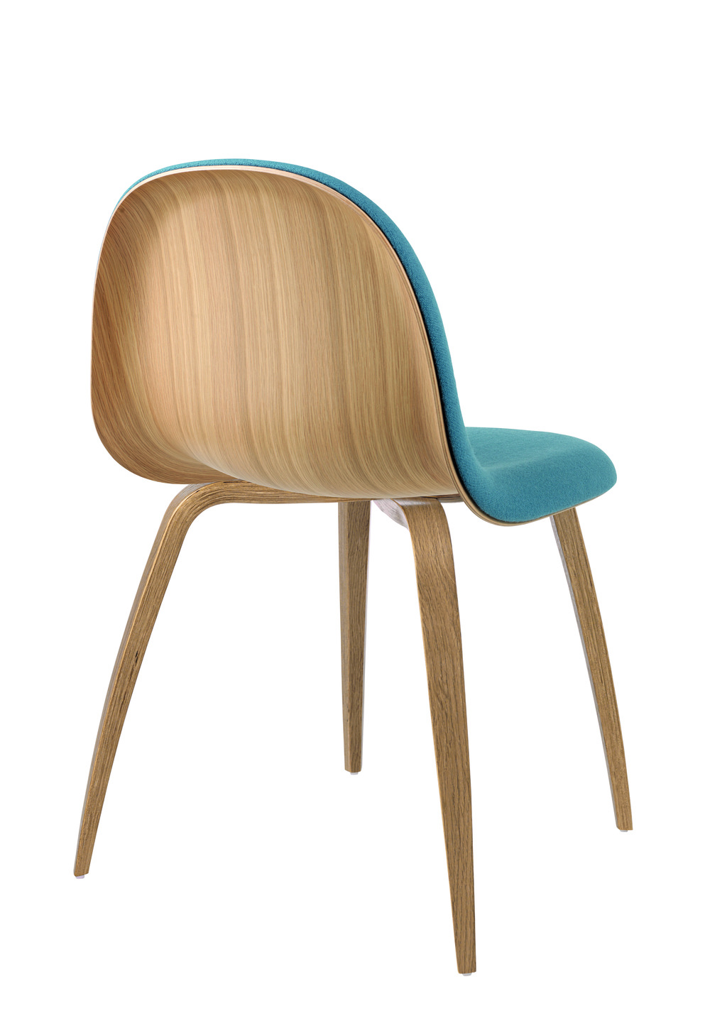 Gubi 52 Chair_Front Upholstered with Tonus colour 627 grey-blue_Oak Base_Back.jpg