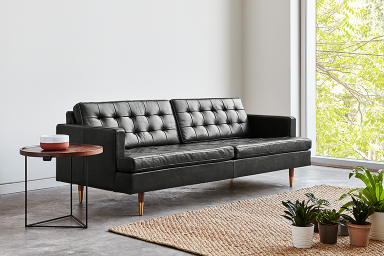 Archer Sofa - Saddle Black Leather - L02.jpg