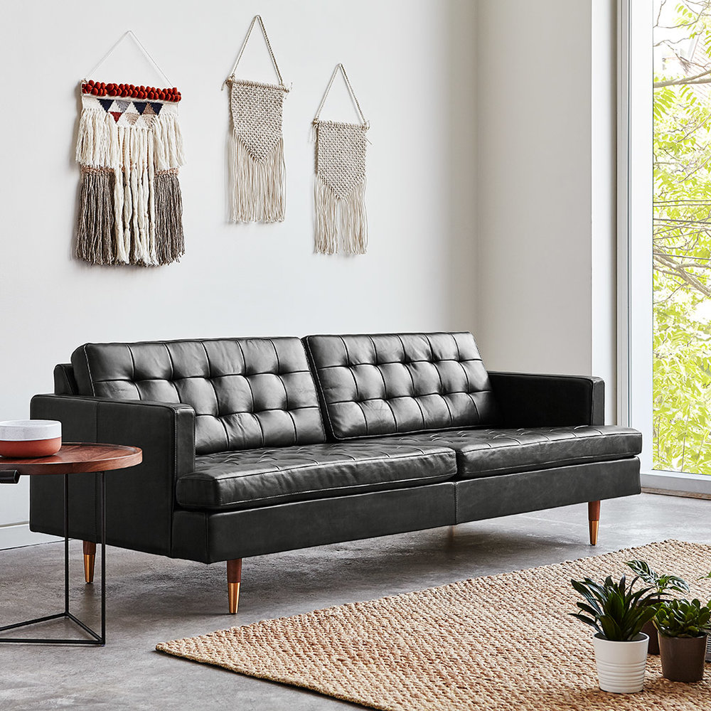 Archer Sofa - Saddle Black Leather - L01.jpg