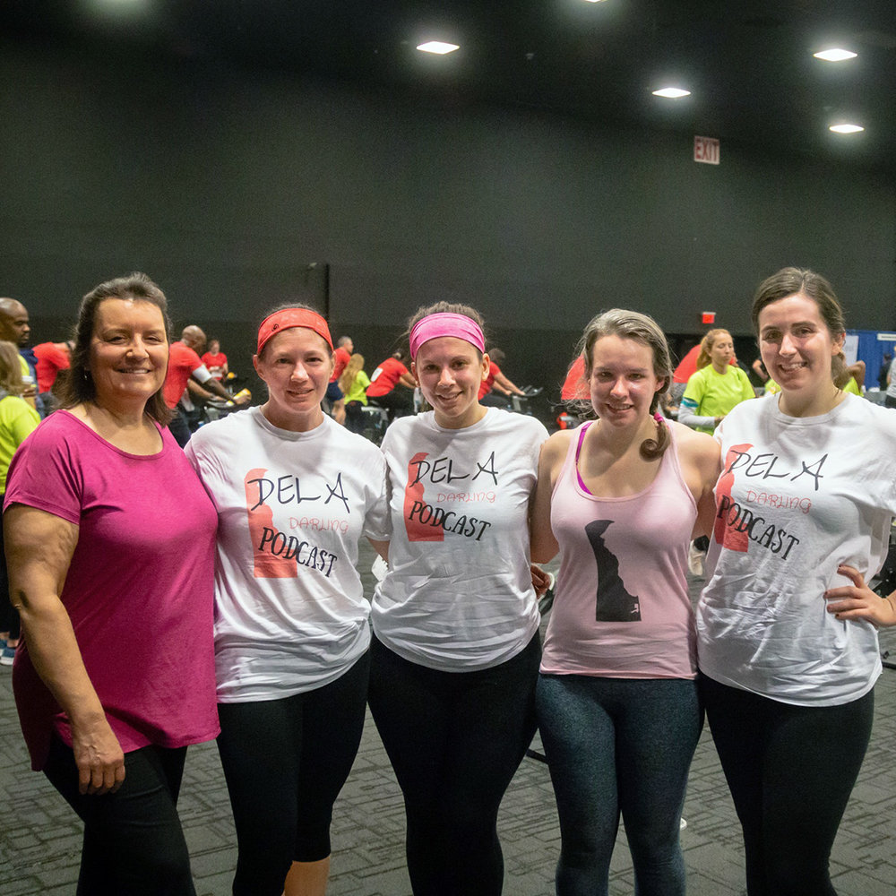 Team Dela Darling competed in the 2019 Delaware Charity Challenge Winter Games and raised money for Family Promise of New Castle County. Members of the team finished 3rd in the Run, Row, Bike Women's Team Division.