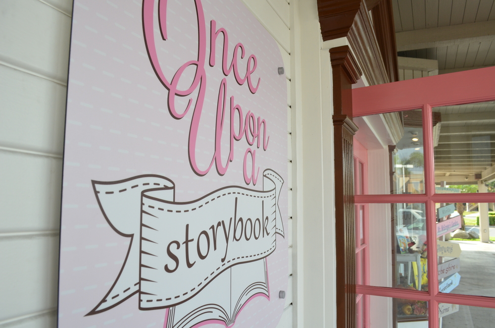 In Enderle Center between Zito's and The Crabcooker ... look for our pink doors!