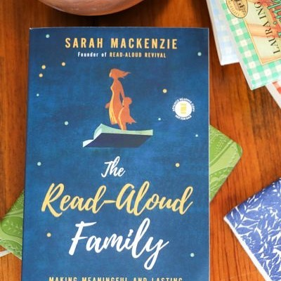Are you a fan of The Read Aloud Revival?  Sarah Mackenzie's new book is in!  She shares her heart and tips for reading to kids, along with a great index of children's titles!  #readaloudrevival #onceuponastorybook #becausestoriesinspireandbooksmakememories #bookbirthday #readingaloud #familytime #readingtogether