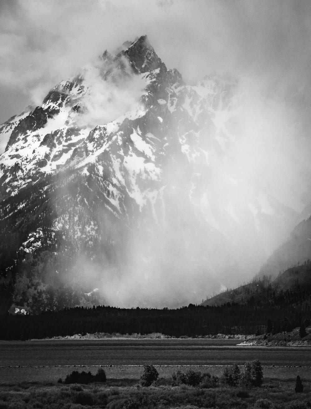 Mountain Virga