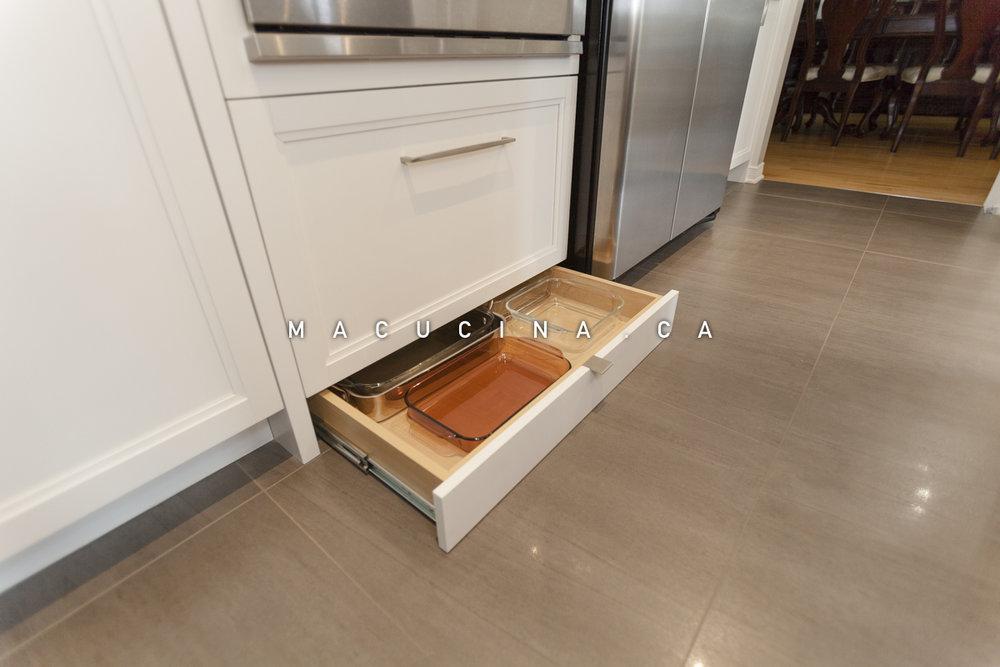 Rangement armoires sur mesure pour la cuisine