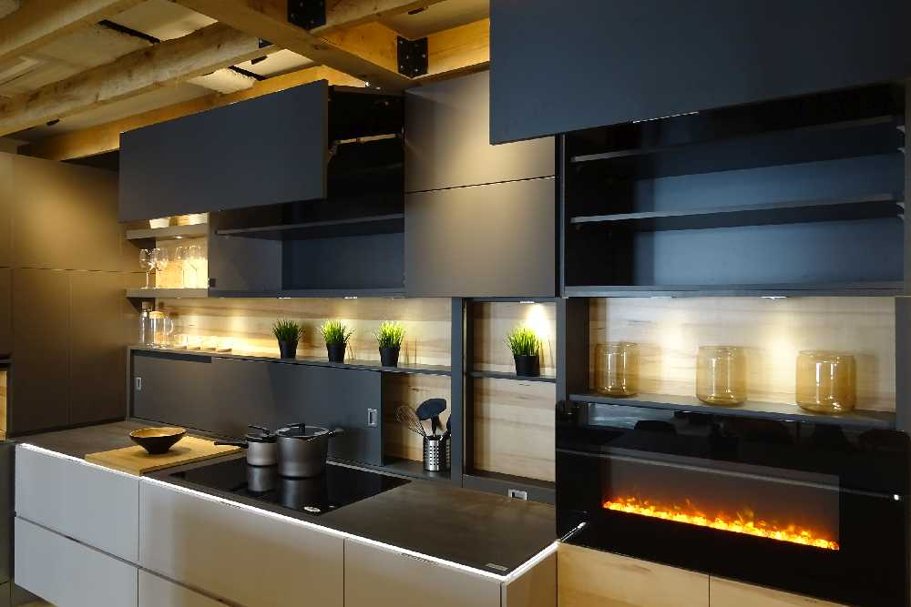 Cuisine contemporaine showroom laval
