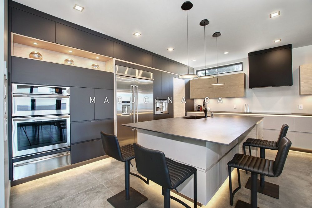 Cuisines Contemporaines Macucina A Laval Macucina Armoires De
