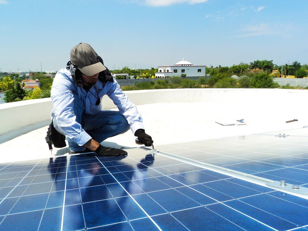 The solar industry is also the source of hundreds of thousands of American jobs.