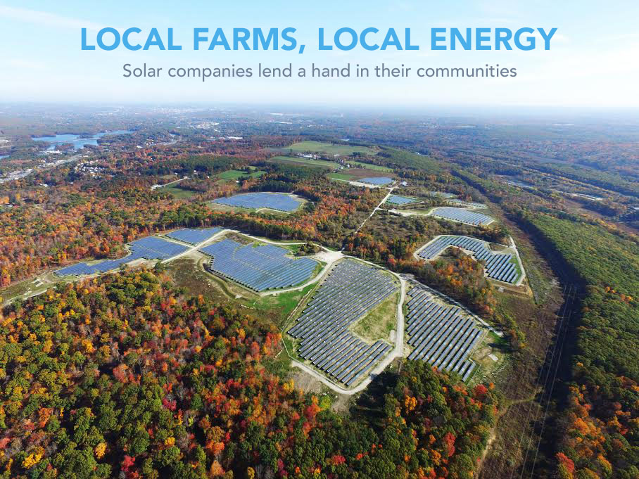 The Barrett Street Solar Farm. Photo Credit: BlueWave Solar