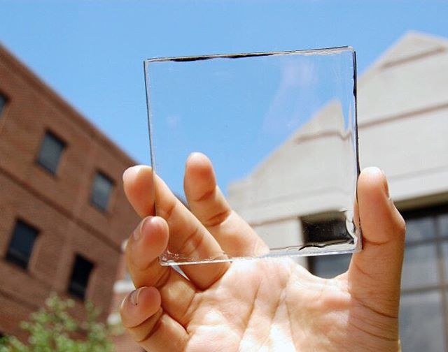 Talk about an untapped resource... Solar-cell infused glass could power our homes & our smartphones!! #cleantech #solar #solarpanels #solarforall