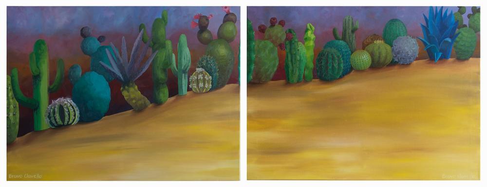 Cactus horizon / Horizonte de cactus