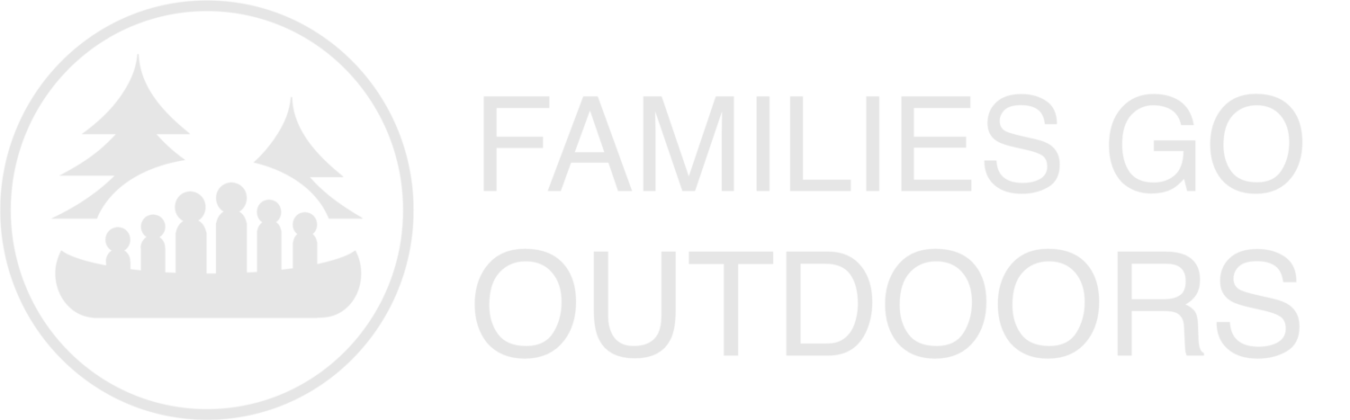 Families Go Outdoors