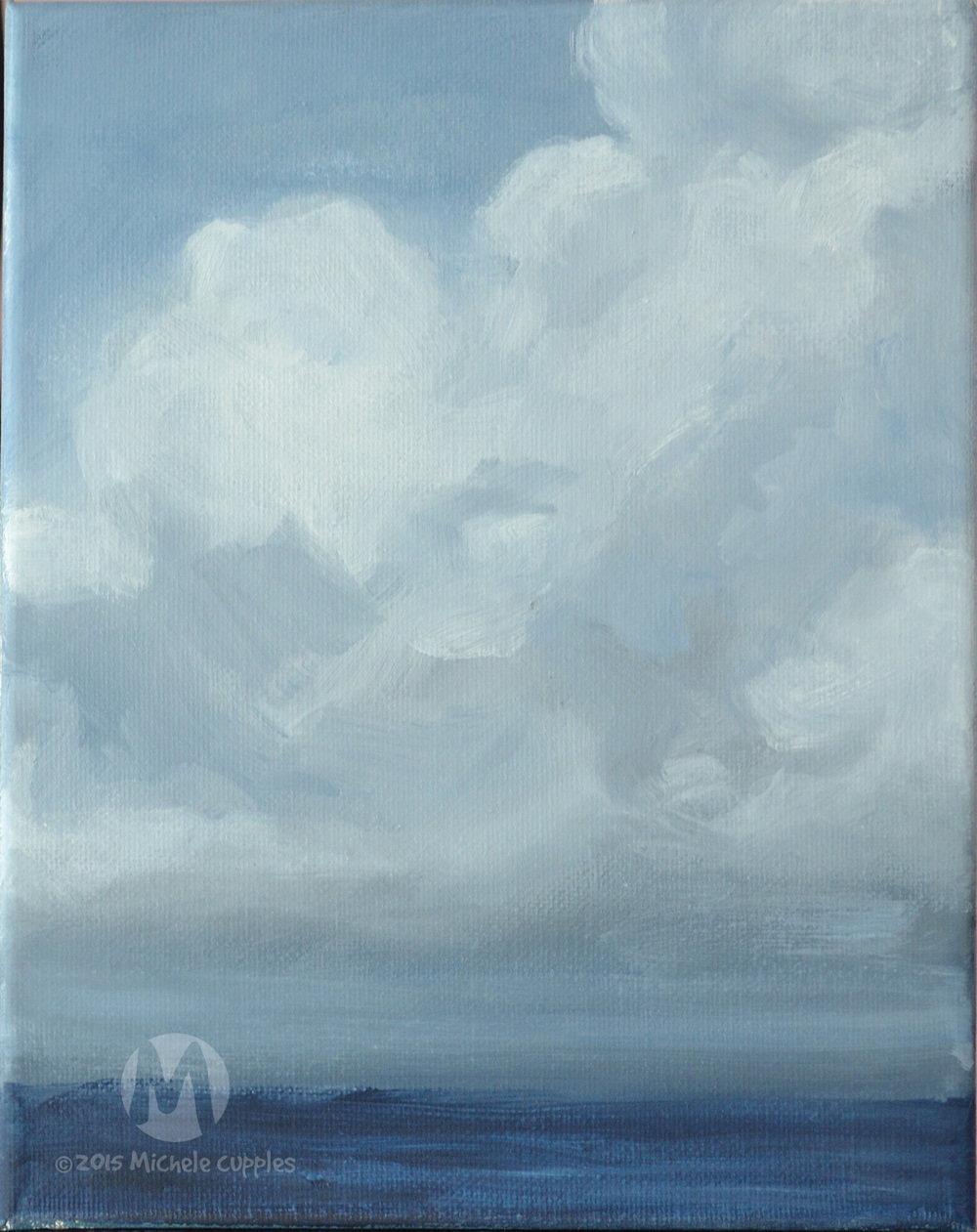 Cloud & Sea Study