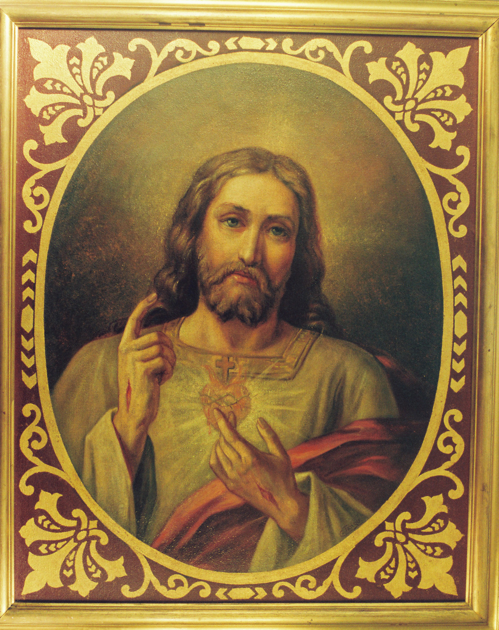 Camillo Tango oil painting of Jesus