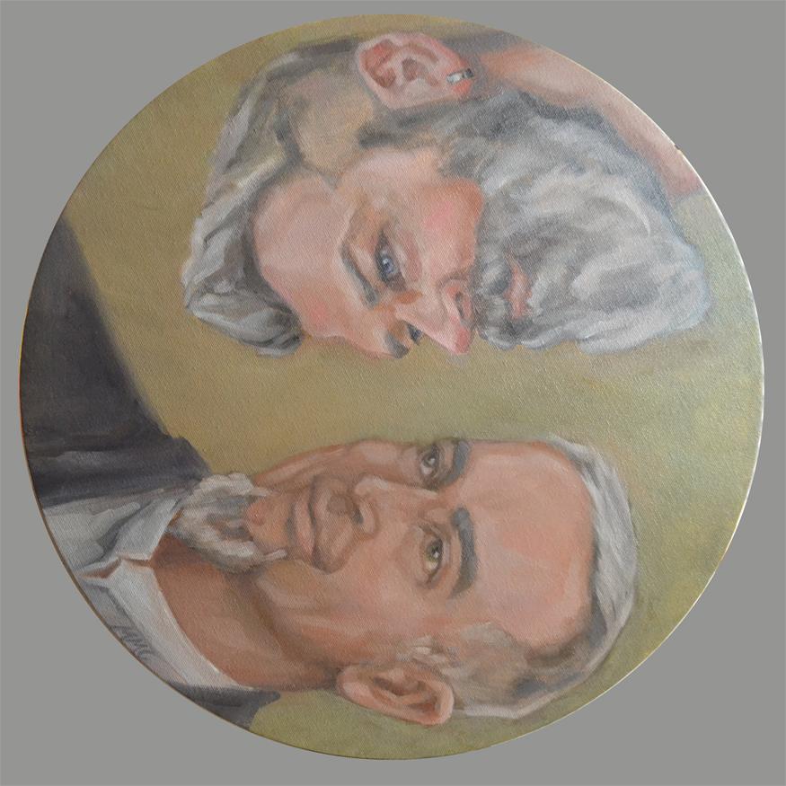 """Portrait: """"J&R"""""""