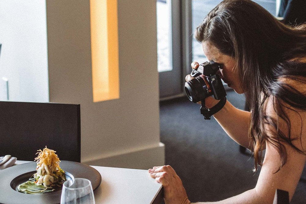 Kristen Penoyer, a Jacksonville food photographer, works at Hob Nob Restaurant in Riverside.