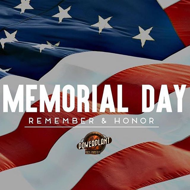 Happy Memorial Day!! We're so thankful for all who serve and who has served to protect and defend our country! Have a fun and safe day celebrating!