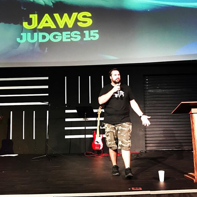 Keeping the Summer of Fun series rolling even though school has started. Josh brought the word tonight from Judges 15! #VSM