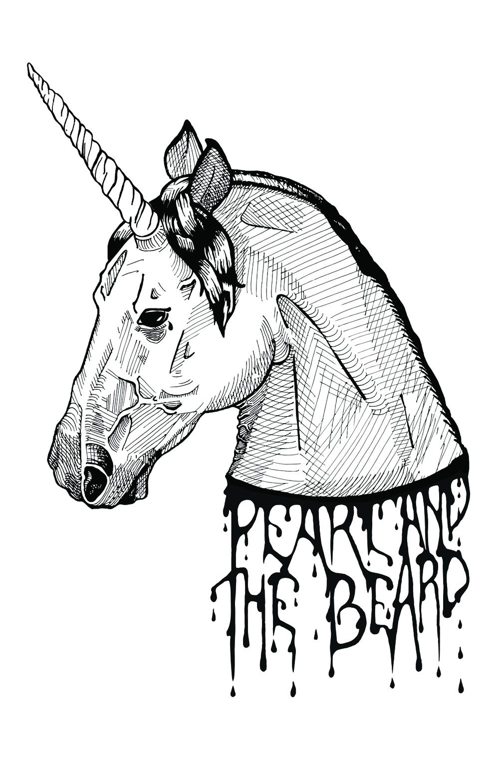 Pearl and the Beard    Tee Shirt Design Collaboration // Illustration