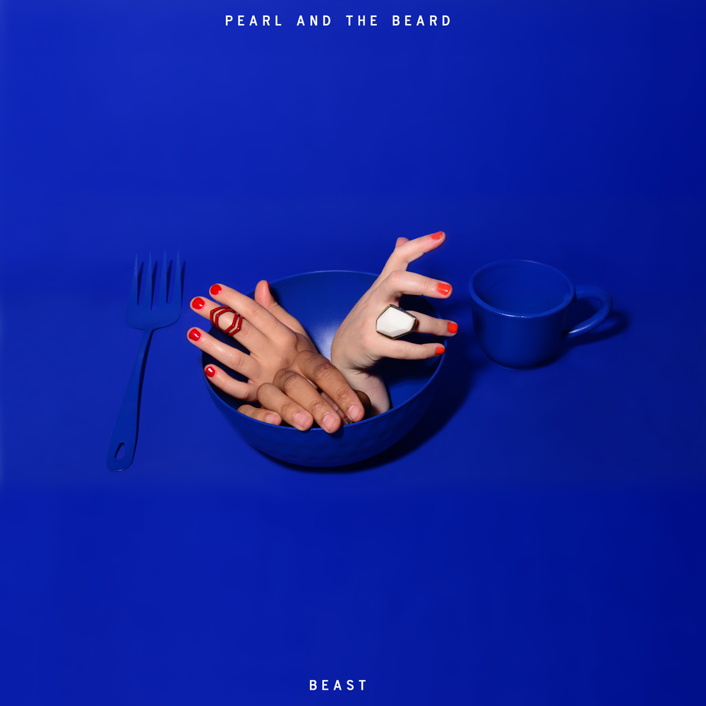 Pearl and the Beard  // Beast // Release date TBA   Album Artwork Collaboration // Artwork Execution // Props // Digital Design   Photo by Shervin Lainez