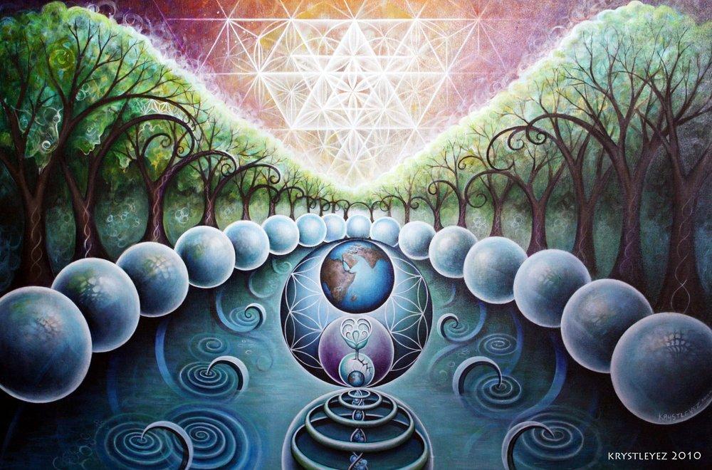 """""""Mystic Gaia"""" by Krystleyez"""