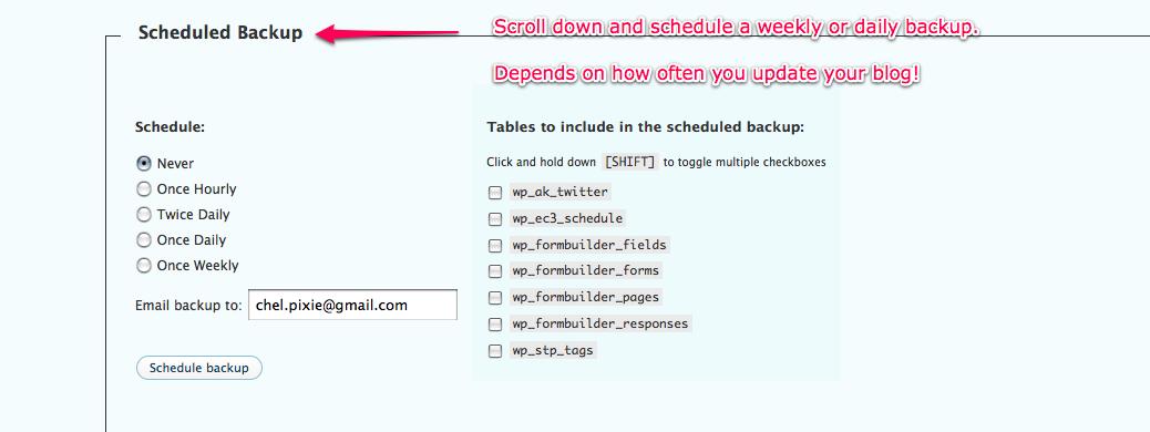 schedule-backups