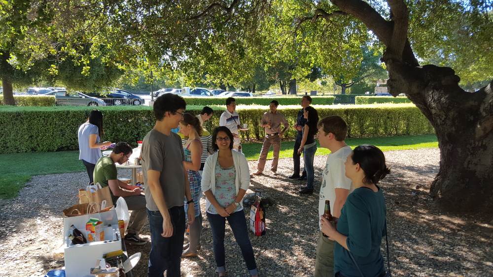 BBQ with the Artandi lab - Summer 2015