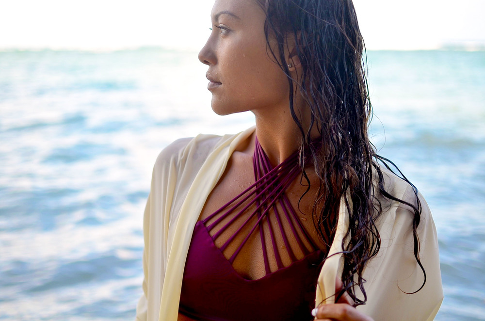 Kealoha Top in Burgundy