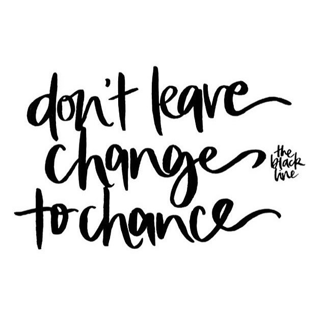 ✨BE THE CHANGE ✨// don't leave change to chance // via @theblacklinebylauren #change #chance #bethechange #gandhi #ethicalfashion #sustainablefashion #ecofashion #bedifferent #makeadifference