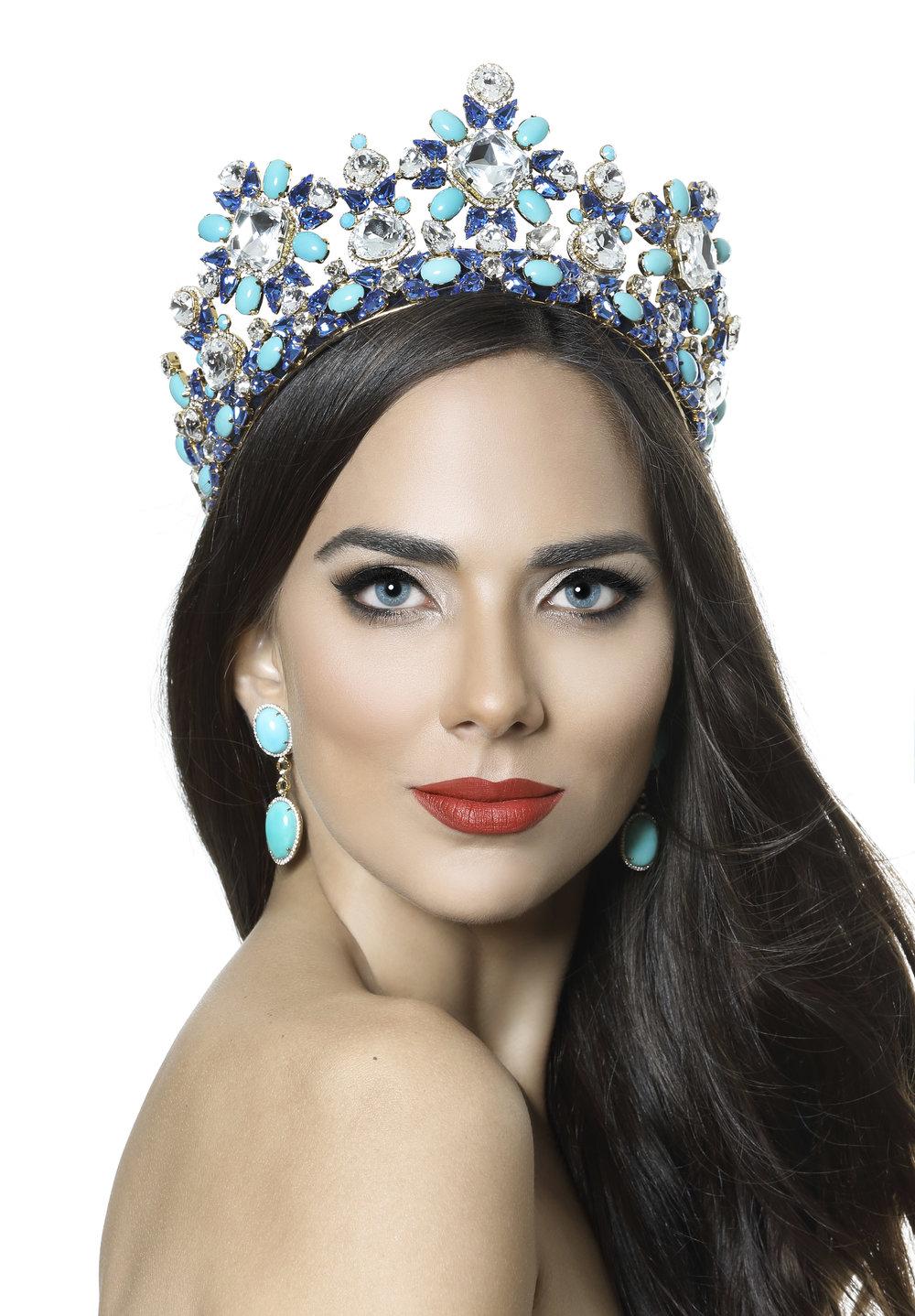 Alessandra Bueno, Señorita Panamá Mundo 2016.  Cortesía/Darío Moreno.