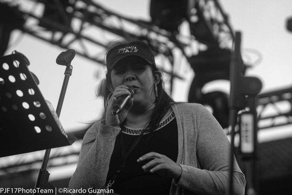 El grupo  Panama Jazz All Stars  estuvo encargado de interpretar las canciones de  Violeta Green , la cantante panameña homenajeada de este año.