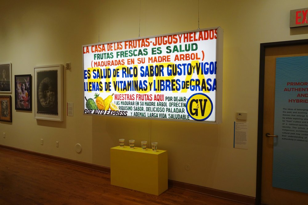 La pieza de Rumaldo Choy denominada 'Frutijutos'. Foto/Ian Byers-Gamber para el Chinese American Museum