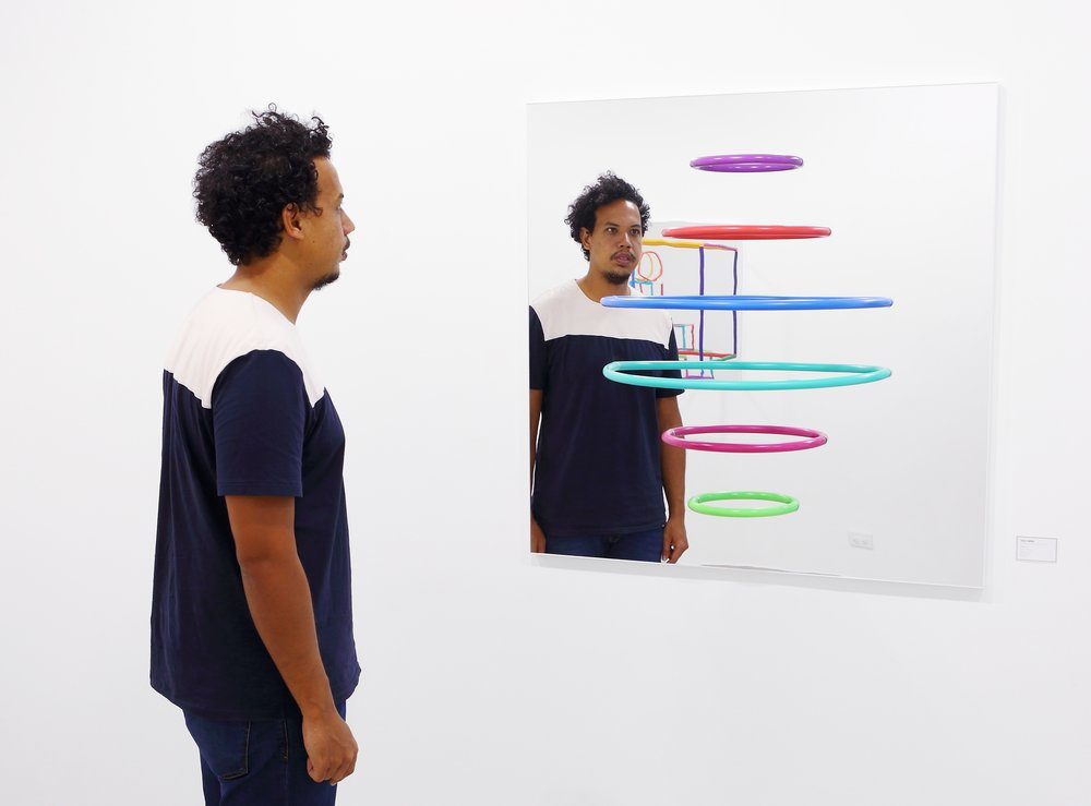 A partir de 'Puentes', Cisco Merel creó una serie entera de esculturas que se encuentran en Marion Gallery. Foto/Oliver Meixner