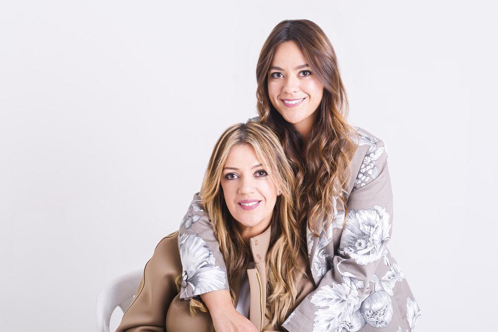 Mónica Arbeláez y Juliana Quintero, creadoras de Palma Canaria. Fotos: Cortesía.