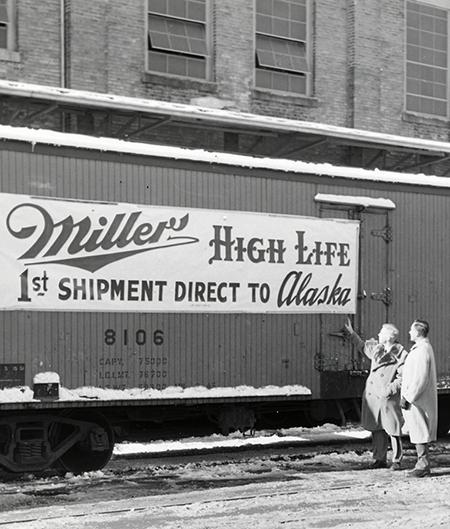 1952 Miller High Life Alaska